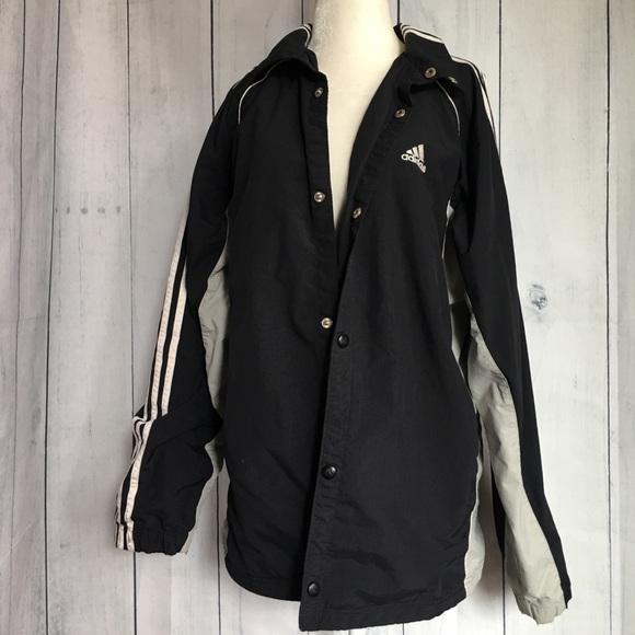 adidas giacche & cappotti mens vintage 3 strisce bottone della giacca
